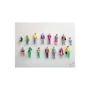 100 painted figures 00 gauge 1:76