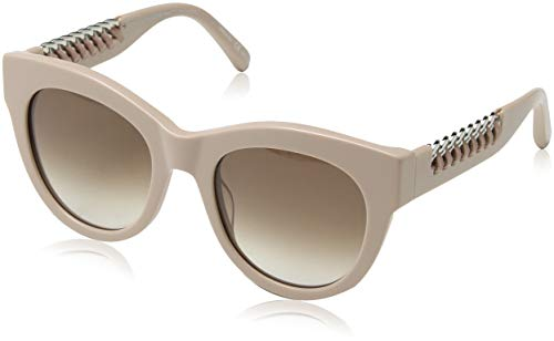 Stella mccartney sc0064s 004, occhiali da sole unisex-adulto, rosa (004-pink/brown), 51