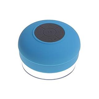 Waterproof Mini Portable Speaker (3W, Bluetooth), Blue