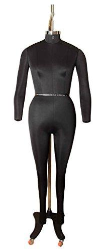 Adam's Mannequins Female Dress Form DFF09BS Size 8