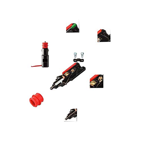 acodado, 12-24 V, 7,5 A Conector Universal ProCar
