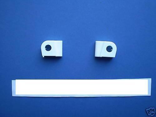 Creda Hotpoint Door Hinge Bearings Guides 2Pk 1603030 by Hotpoint (Guide Bearing)