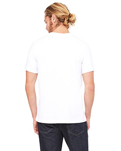 3091Bella + Canvas Unisex Heavyweight 5,5OZ Crew T-Shirt Weiß