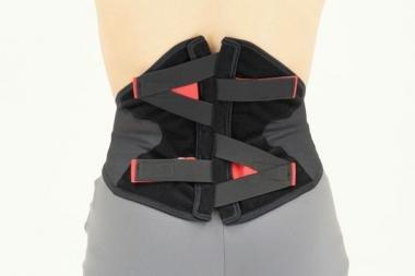 Rückenorthese - Aktivbandage im Lendenwirbelbereich, Back Impact - Unisex - Größe L