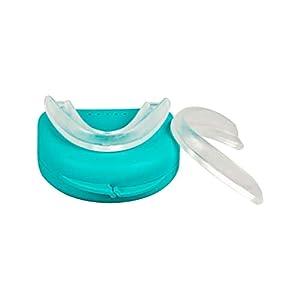 NEU! Professional Aufbissschiene (2 Stk) inkl. 1 Aufbewahrungsbox, BPA frei, Zahnschutz beim nächtlichen Zähneknirschen, Knirscherschiene, Zahnschiene, Mouthguard – 100% ige Zufriedenheitsgarantie
