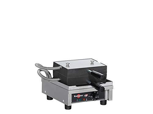 Lütticher Waffeleisen 4x6 LP - Serie 90° - Easy Clean System Serie 4x6