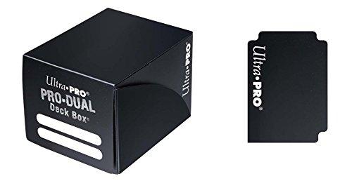 Pro Doppel Deck Box (Schwarz) -