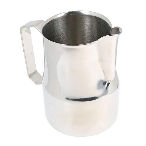 D DOLITY Edelstahl Kaffee Krug Handwerk Latte Milch Aufschäumen Krug