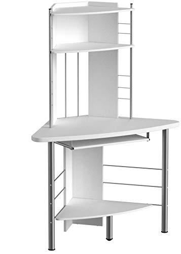 Genuine Piranha Oscar Compact Ecke Computer-Schreibtisch Möbel für den Home Office PC8S Computertisch Ecktisch