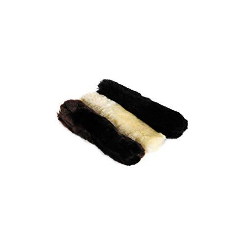 LeMieux Satteldecke Unisex Nasenriemenschoner, Lammfell, natürlicher Wolle, One Size -