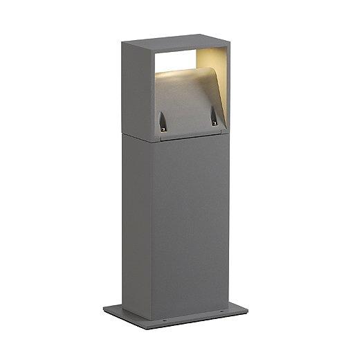SLV lOGS 40 lampe sur pied carré lED 6 w blanc chaud/argenté 232114