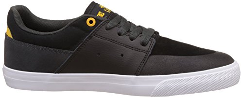 DC Shoes  Wes Kremer, Espadrilles Homme Noir - Black/Grey/Yellow