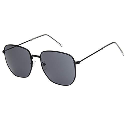 Whycat sonnenbrille herren Harry Potter Brille Circle Eyeglasses Retro Transparente Sonnenbrille John 60'S Style Farbige Brille(D)