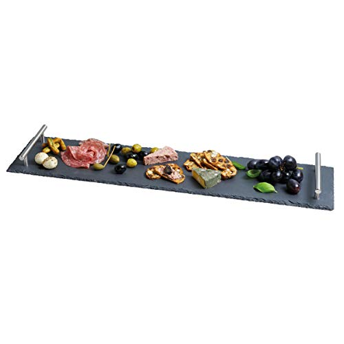 Kitchen Craft ARTPLATTER Schiefertablett, Servierset