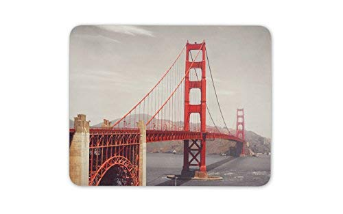 Golden Gate Bridge Mauspad Pad San Francisco USA kühles Geschenk-Computer-Geschenk # 8206
