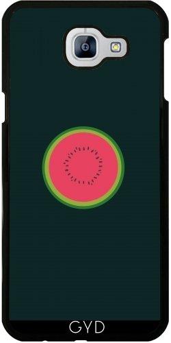 Custodia per Samsung Galaxy A8 2016 (SM-A810) - Melone Dimezzato by ilovecotton - Verde Melone Seeds