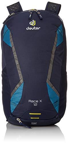 Deuter Race X Fahrradrucksack, Navy-Denim, 44 x 25 x 15 cm, 12 L