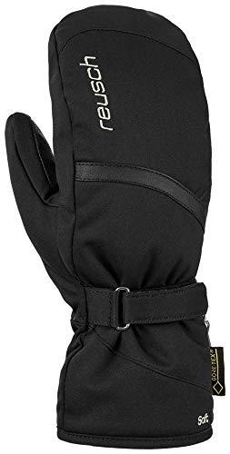 Reusch Damen Alexa GTX Mitten Handschuhe, Black/Silver, 7.5