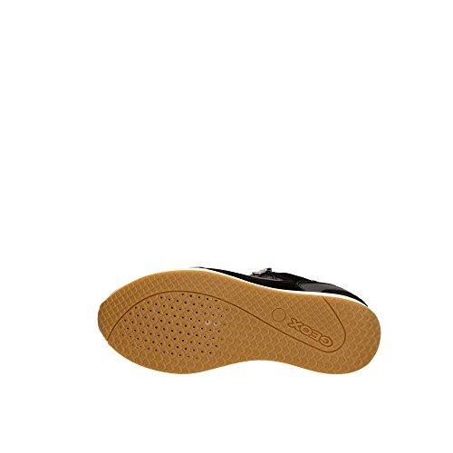 Geox Damen D Nydame A Hohe Sneaker Schwarz