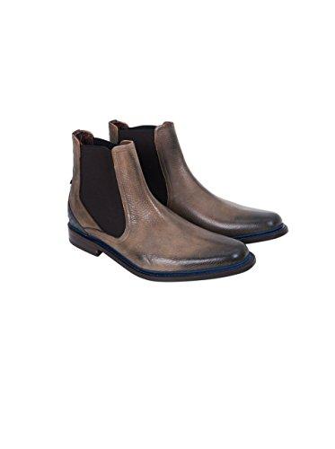 IM tauoe Chelsea Beige van 00 Look calf Boot Bommel Used Floris Herren CgFw1Aqx