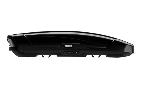 THULE 629601 Coffre de Toit Rigide Motion XT Sport  6296B, Glossy Noir, Taille S