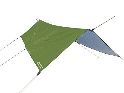 Mmondschein Waterproof Rain Sunshade Fly Tent tarp Lightweight Hammock Shelter for Camping Hiking Fishing Trekking Backpacking Travel 10Ft x 10Ft(Green)