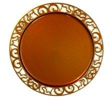 4-round-plastic-underplates-30-cm-pearlescent-brown