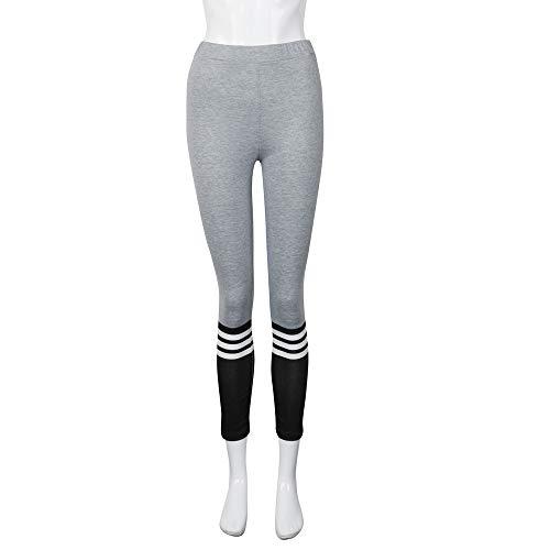 Damen Gym Leggings bestshope Frauen Yoga Sporthose Fitnesshose Sportswear-Strumpfhose Freizeithose Streetwear Figurformend High Wasit Stretch Running Hose mit Hohe Taille für Arbeit Freizeit ()