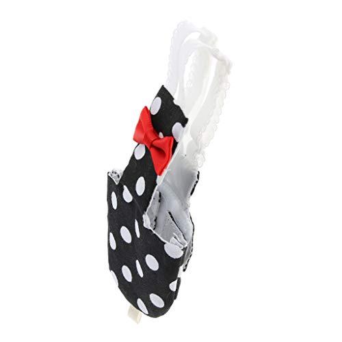 Homyl Atmungsaktive Waschbare Windeln Schutzhose Schutzhöschen Unterwäsche für Vögel Papageien Nymphensittiche Wellensittiche Sittiche - Punkte, S