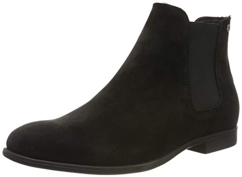 JACK & JONES Jfwmitchell Synth Suede, Botas Chelsea para Hombre, Negro Anthracite Anthracite, 43 EU...