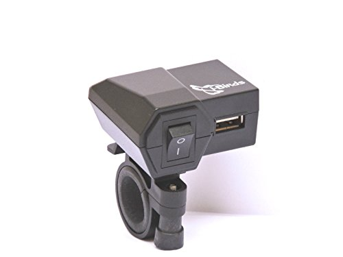 i-birds - 1 amp. mobile charger for bike (black) i-Birds – 1 AMP. Mobile Charger For Bike (Black) 31ixUNxV2 2BL