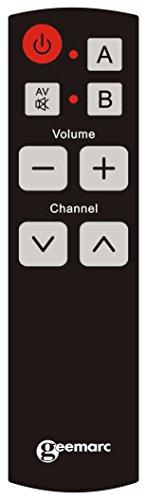 Geemarc Geemarc EASY TV 5 Télécommande Universelle 1 High-Tech ... 2d4e1f2454d3