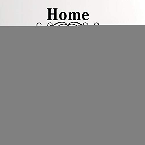 AZLIXLH Wandaufkleber Wandpapier-Malturbild Schwarze und weiße Schlafzimmer Wohnzimmer Aufkleber Küche Alphabet Hintergrund Wand PVC Wohn-Dekoration 40X68cm - Wohn-alphabet