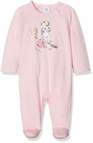 Sanetta Baby-Mädchen Schlafstrampler Overall Long, Pink (Magnolie 3609.0), 80