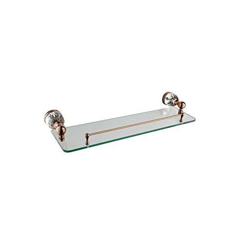 ZQ@QXRose Gold, Regal 1 Badezimmer Zubehör Kit (Badezimmer-zubehör-kit-bronze)