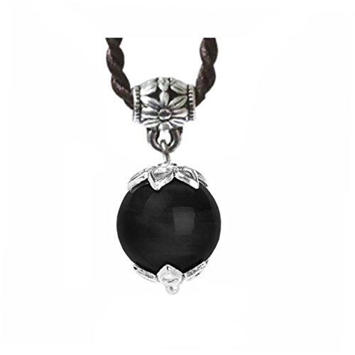 Ufingo Jewelry - Bolas Colgantes Negro Turmalina