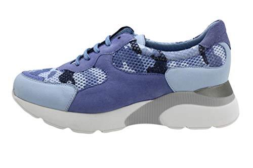 PieSanto Scarpa Comoda Donna Sneaker 190075 Blu Size: 36 EU