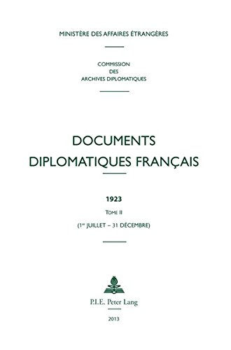 Documents diplomatiques français, 1923 ...
