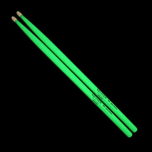 Agner Drumsticks 5A Glow-Sticks US-Hickory (selbstleuchtend)