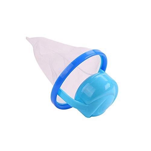 Waschen Kugel Companion Schwimmende Haustier Fell Fänger Wiederverwendbar Haarentferner Gerät Filter Werkzeug - Blau ()