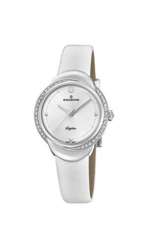 Candino Femme Analogique Classique Quartz Montre avec Bracelet en Cuir C4623/1