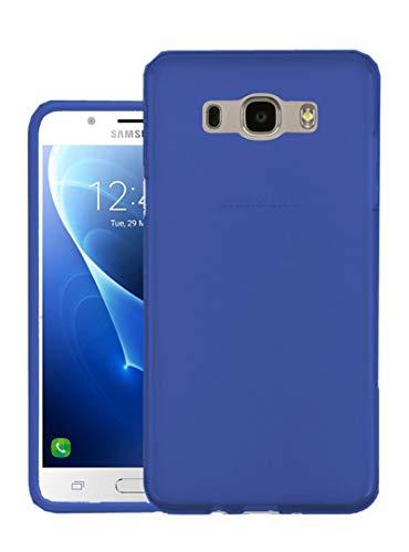 Tboc custodia gel tpu blu per samsung galaxy j5 (2016) sm-j510 in silicone ultra sottile e flessibile