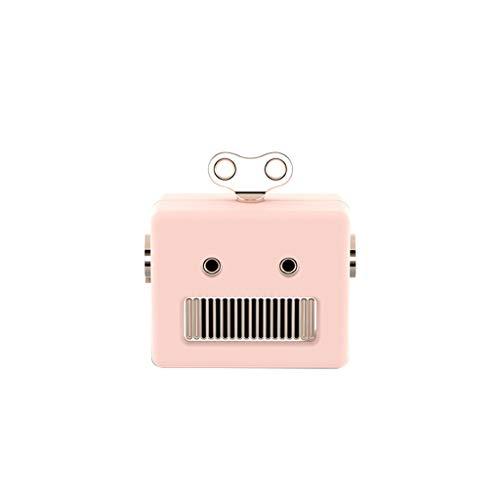 MA87 Kabelloser tragbarer Lautsprecher Rob Mini schöne tragbare Bluetooth-Lautsprecher intelligent (Rosa) (Tacho Für Kleinkind-jungen)