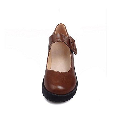BalaMasa - Scarpe con plateau donna Brown
