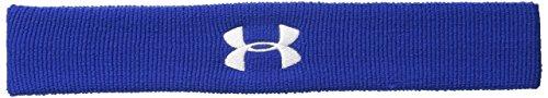 Under Armour UA Performance Headband, Fascia Uomo, Blu (Royal/White 400), Taglia unica