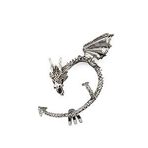 Rrunzfon Bola de Vuelo de Dragon Ball Z 1pc Juego de Tronos Manguito del oído del dragón del Pendiente del Abrigo gótico… 1
