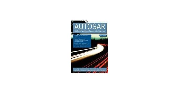 Amazon in: Buy AUTOSAR - AUTomotive Open System ARchitecture