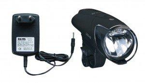 Preisvergleich Produktbild Busch & Müller IXON IQ + Ladegerät + Akkus + LED Batterieleuchte Modell 2011