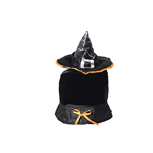 ustier-Hut Katzen-Hexe-Hut-Halloween-Kostüm-Hut Festival verkleiden Haustier Hut Neuheit Kopfbedeckung Kostüm Accessoryfor Katze Hund ()