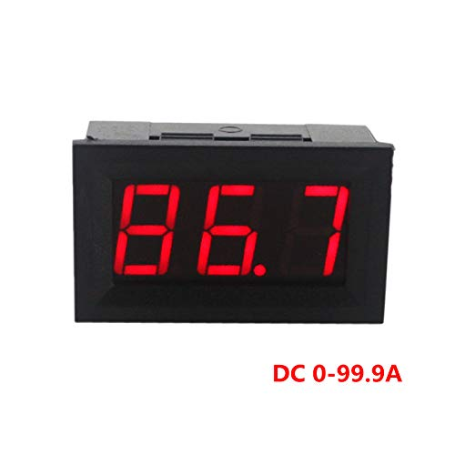 Lepakshi Red Led Display Dc Ammeter Current Panel Meter Ampere Meter Digital Amm